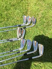 NEW FULL SET OF SPECTRUM IRONS 3/SI AP-44 R Flex Steel SHAFT RH Made In Scotland