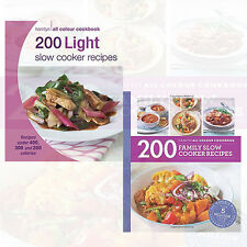 Sara Lewis Collection 2 Books Set 200 Family Slow Cooker Recipes Light Slow Cook