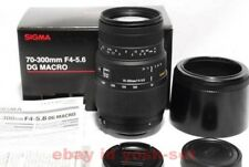 SIGMA 70-300mm f/4-5.6 DG Macro Telephoto Zoom Lens for Sony from Japan EMS
