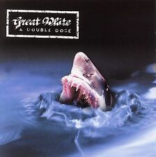 Great White - A Double Dose (CD, May-2004, 2-Disc Set) Great Zeppelin + Recover