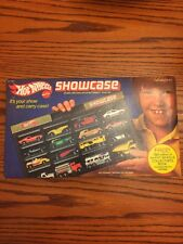 1981 Hot Wheels SHOWCASE Carry Case No. 3464 NOS  Vintage