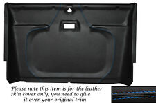 BLUE STITCH FRONT ROOF LINING HEADLINING COVER FITS LAND ROVER DEFENDER 90 110