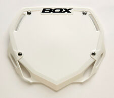 Box BMX Phase 1 Pro Number Plate White BX-NP13000LG-WH