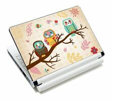 "Art NEK-125 NEW Art Design Cute Owl 15"" 15.4"" 15.6 inch Laptop Skin Sticker Art"