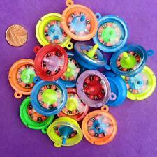 15 x Plastic ROULETTE WHEEL Charms, Vintage, Party bag Filler, Key ring