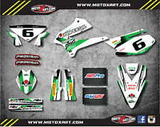 Kawasaki KLX 250 2008 - 2016 Full custom sticker kit STORM style decals