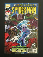 Box 35a, Comic Marvel, Spider-man Peter Parker, # 12, Sinister Six Part 2 of 2
