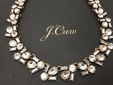 J Crew garden party Auth necklace wedding bride bridesmaid  NWT New Statement