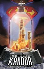 DC COMICS  SUPERMAN: BOTTLE CITY OF KANDOR PROP Replica MIB lights up Statue TOY
