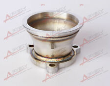 """UNIVERSAL STAINLESS STEEL 2.5"""" 3 BOLT TO 3.0'' V-BAND TURBO DOWNPIPE ADAPTE"""