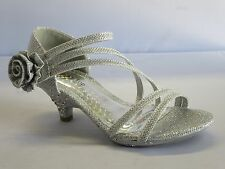Girls Dress Shoes Pageant Heels (time30a) Toddler Flower Girl Party Shoes