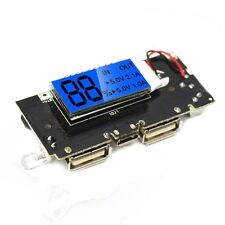 USB 5V 1A 2.1A Mobile Power Bank 18650 Battery Charger Module with LCD DIY