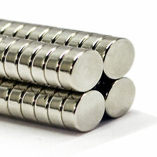 40pcs 14mm x 5mm Very Strong DIY  Project Neodymium Disc Magnet