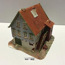 Faller B-280 H0 Wohnhaus mit Storchennest, Maßstab 1:87, fertig gebaut