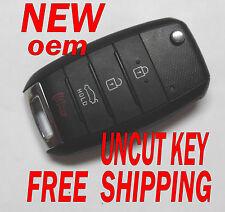 NEW OEM 2014 - 2016 KIA FORTE FLIP KEY KEYLESS REMOTE FOB OKA-870T OSLOKA-870T
