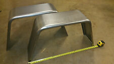 """PAIR of Trailer Fenders Single Axle 10""""x36"""" Jeep Style FREE SHIPPING!!!"""