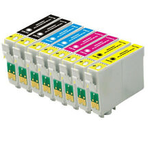 8 Pack T200XL Ink For Epson XP 300 WF 2520 2530 2540 Printer