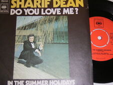 "7"" - sharif Dean Do You Love Me & in the summer Holidays - 1972 Center # 5827"