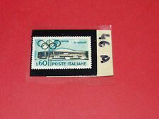 TIMBRES N°46 A & B PANINI OLYMPIA 1896-1972 JEUX OLYMPIQUES OLYMPIC GAMES