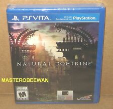 PS Vita Natural Doctrine New Sealed (Sony PlayStation Vita, 2014)