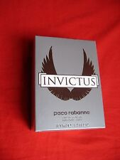 Invictus by Paco Rabanne Eau De Toilette Spray 3.4 oz /100 ml For Men NIB