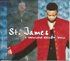 ST. JAMES I would Die 4 you 4TRX w/ RARE EDITS & MIXES & EXTENDED CD single 1995