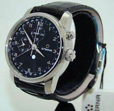ETERNA MEN's SOLEURE AUTOMATIC MOONPHASE CHRONO WATCH BRAND NEW Ref. 8340.41