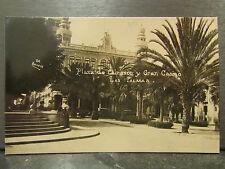 cpa espagne espana las palmas plaza de cairasco y gran casino