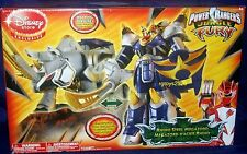 Power Rangers Jungle Fury Deluxe Rhino Steel Megazord New Disney Exclusive 2008