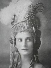 Anna Pavlova Herman Mishkin Photographic Study 1916 Photo Article 9191
