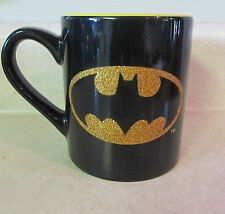 DC Universe - BATMAN Collectors Cup Mug - With Gold Glitter  - Brand New