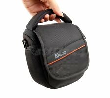 Canon PowerShot S90 Camera Bag Shoulder Strap Memory Card Mobile Pocket