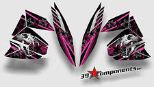 Arctic Cat ProClimb ProCross Pro Climb Pro Cross Graphics Decal Skull Cat Pink