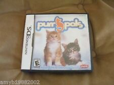 Purr Pals (Nintendo DS, 2007) EUC