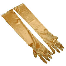 54cm Ladies Satin Gloves Opera Costume Bridal Party Prom Wedding Flapper