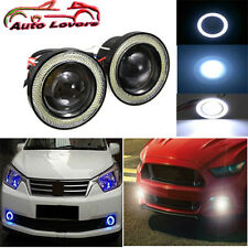 IMPORTED:Projector LED Fog Light/COB White Angel Eyes Rings-15W For TATA XENON