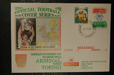 TORINO V ARSENAL 1993/94 CUP WINNERS CUP WINNERS FOOTBALL  FIRST DAY COVER