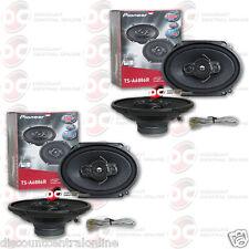 "4 x PIONEER TS-A6886R 5 x 7""/ 6 x 8"" 4-WAY CAR AUDIO COAXIAL SPEAKERS"