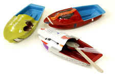 1 x Pop Pop Barca, Dampfboot, Nave giocattolo, Nave Giocattolo di latta