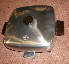 Vintage West Bend Co Teflon Skillet Electric Fry Pan  New old stock