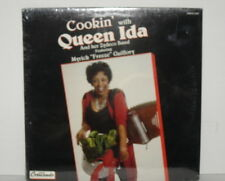 QUEEN IDA Cookin' with Queen Ida LP SEALED Zydeco Band Dancing on the Bayou