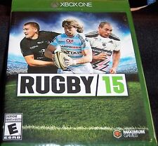 RUGBY 15 XBOX ONE WALMART RECONDITIONED VIDEO GAME FREE SHIPPING