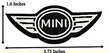 Mini Cooper Logo Name Badge Embroidered Band Patches Racing Car Iron On Sewing