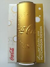 Coca Cola Mcdonalds Glaß 2016 Hutchinson Design **RAR** GOLD **NEU**