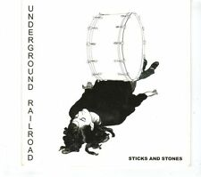 (GR802) Underground Railroad, Sticks And Stones - 2008 DJ CD