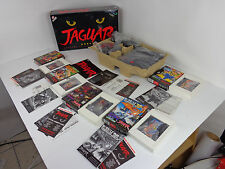 Atari Jaguar Console Video Game System Complete In Box Cybermorph + 5 Games Lot