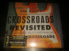 ERIC CLAPTON & Guests - Crossroads Revisited - 3 CDs - 2016 -  NEW SEALED