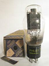 One 1940's Philco 48 Power Amp Tetrode tube - Hickok TV-7D tested @ 80, min:50