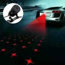 LED Laser Rouge Brouillard Feu Arrière Auto Voiture Lampe avertie Anti-Collision
