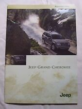 JEEP GRAND CHEROKEE ACCESSORIES BROCHURE 2003 10 PAGES